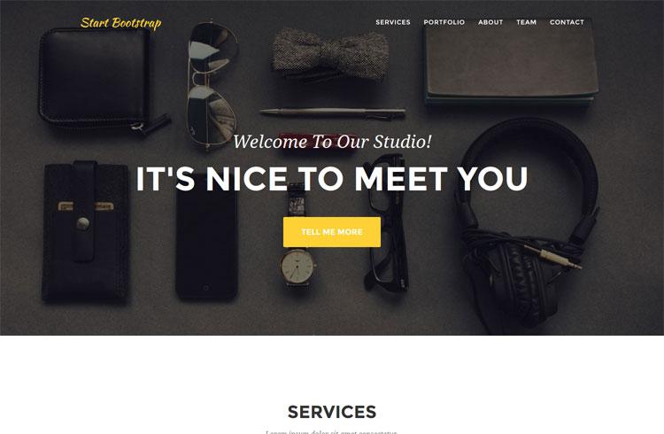 Agency Lite Bootstrap3 theme