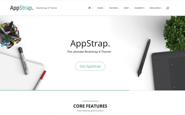 AppStrap theme