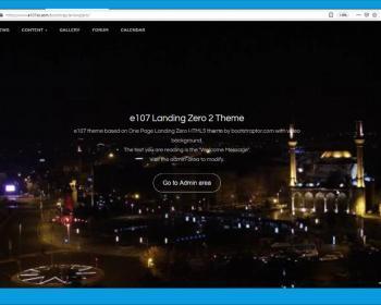 LandingZero2 theme 1.4 released