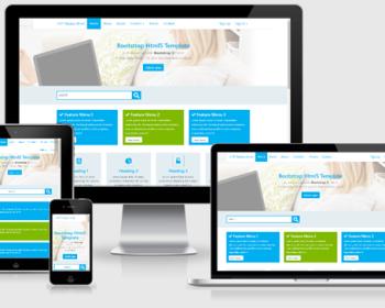 SkyApp e107 Free Bootstrap 4 Theme 2.0.1